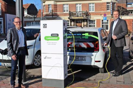 Der Rathaus-Parkplatz erhält eine Ladesäule für Elektroautos
