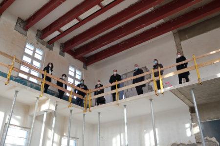 Bauarbeiten im Museum Abtei Liesborn schreiten voran