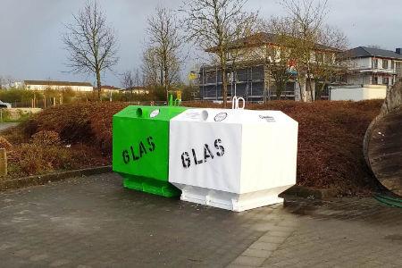 Neue Glascontainer in Neubeckum